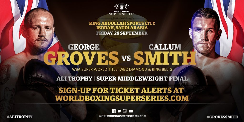 Groves vs Smith - September 28 - Jeddah, Saudi Arabia @ Jeddah, Saudi Arabia | Jeddah | Makkah Province | Saudi Arabia
