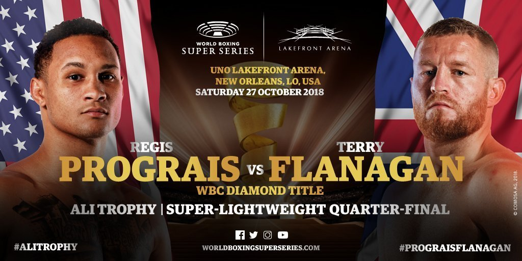 Prograis vs  Flanagan – October 27 – New Orleans
