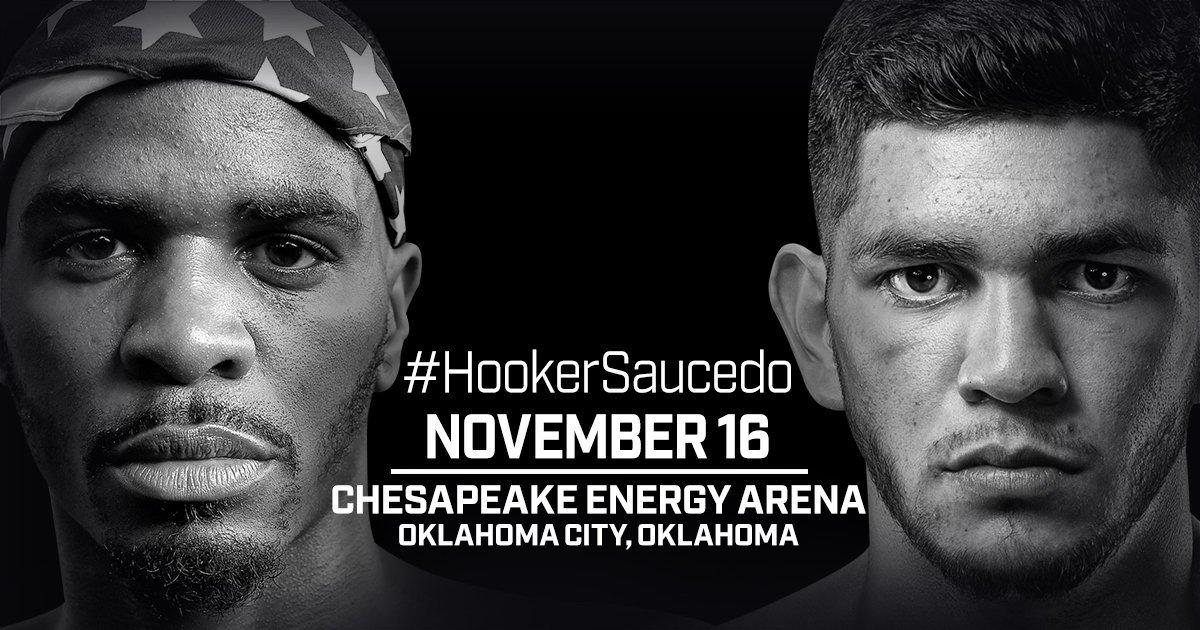 Hooker vs Saucedo – November 16 – Oklahoma