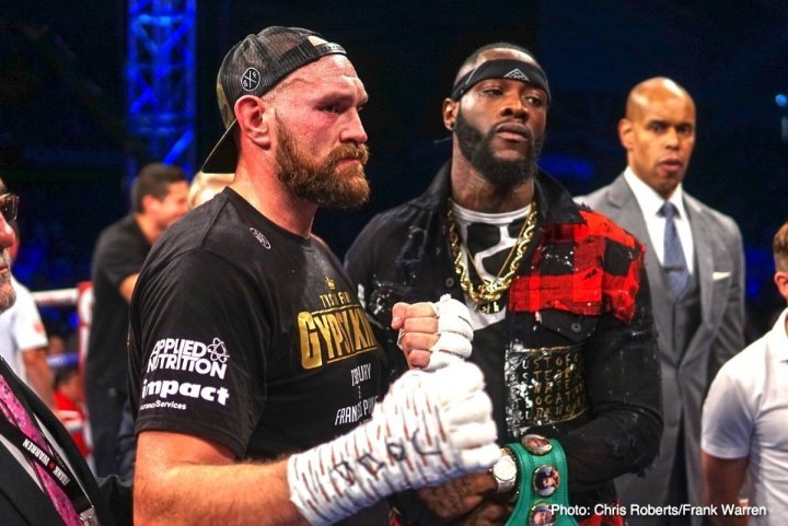 Wilder vs Fury - December 1