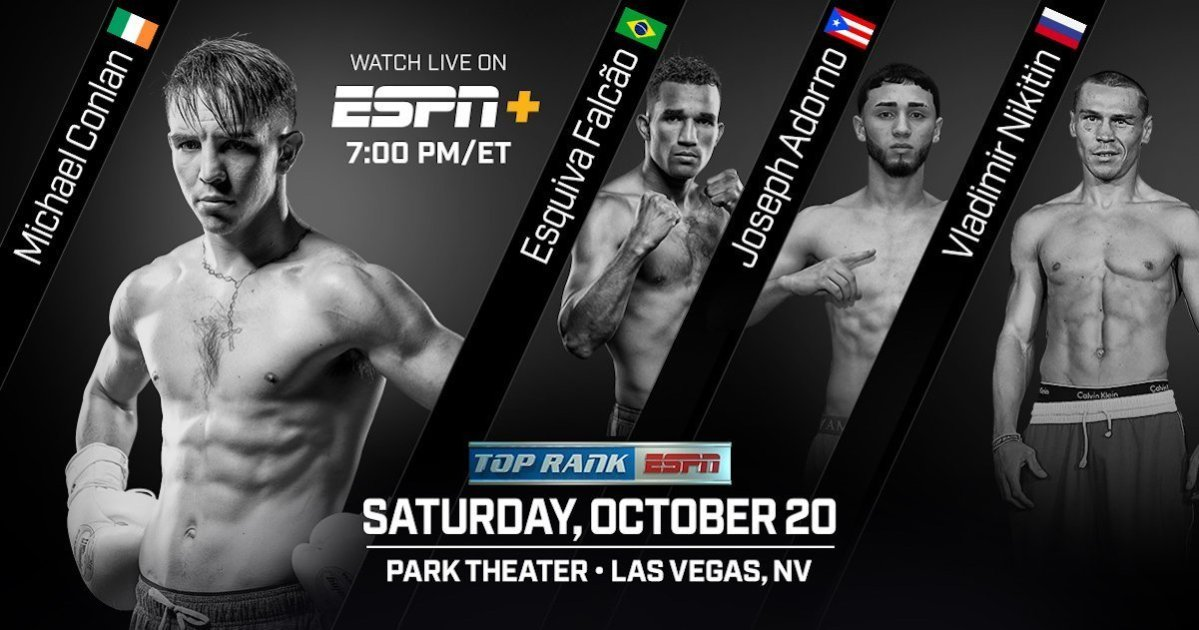 Conlan vs. Cipolletta - October 20 - Las Vegas @ Las Vegas | Las Vegas | Nevada | United States