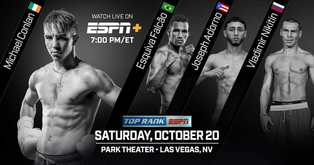Conlan vs. Cipolletta – October 20 – Las Vegas