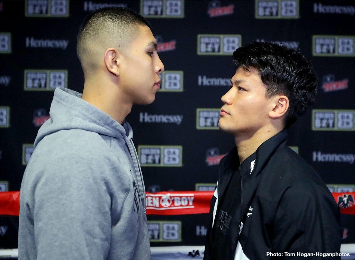 Munguia vs  Inoue – January 26 – Houston, Texas