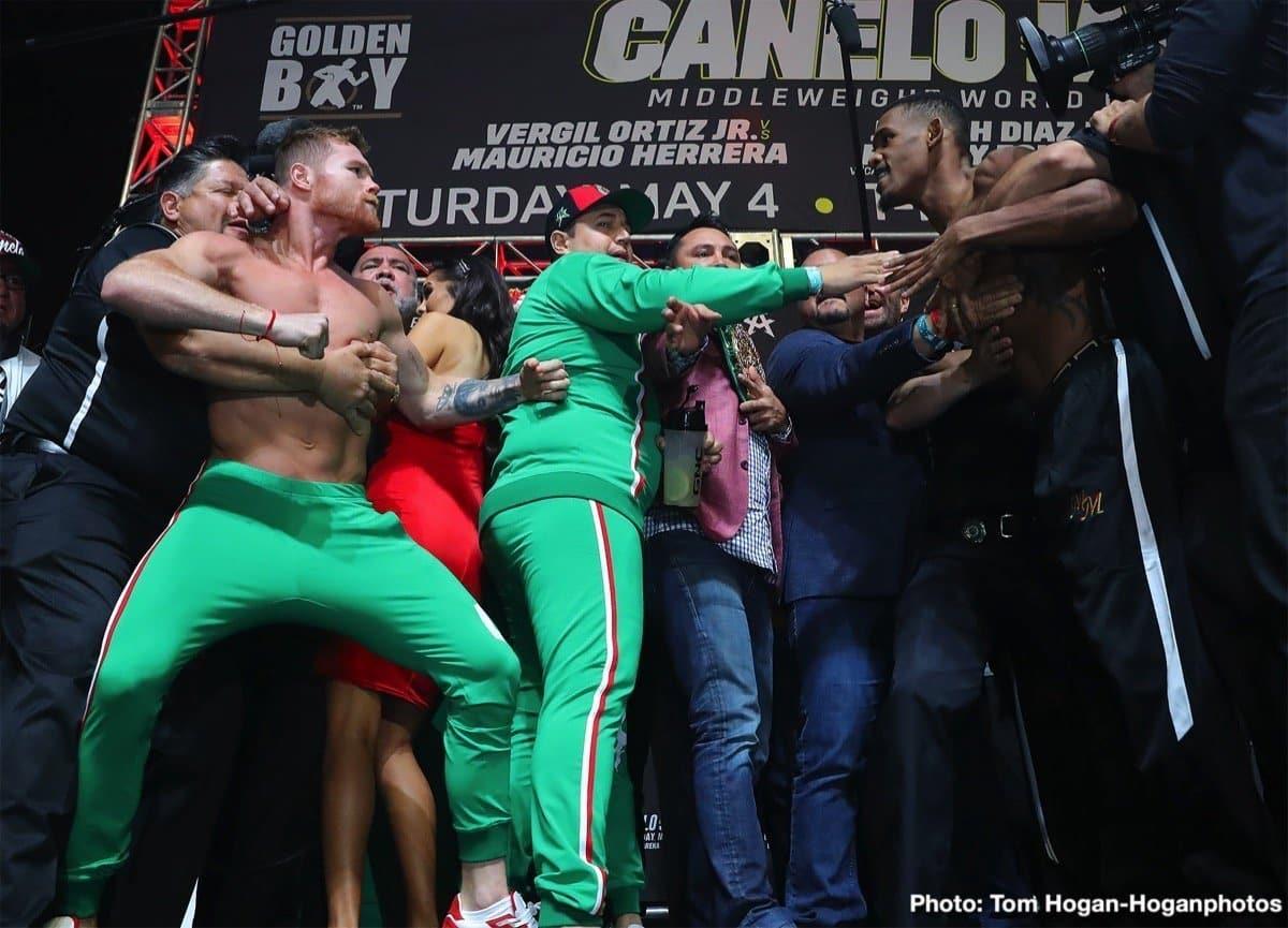 Canelo vs Jacobs – May 4 – DAZN