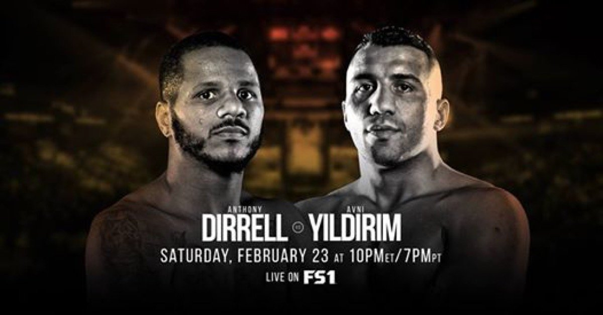 Dirrell vs Yildirim – February 23 – Minnesota