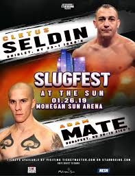 Seldin vs.  Mate - January 26 - Mohegan Sun @ Mohegan Sun | Montville | Connecticut | United States
