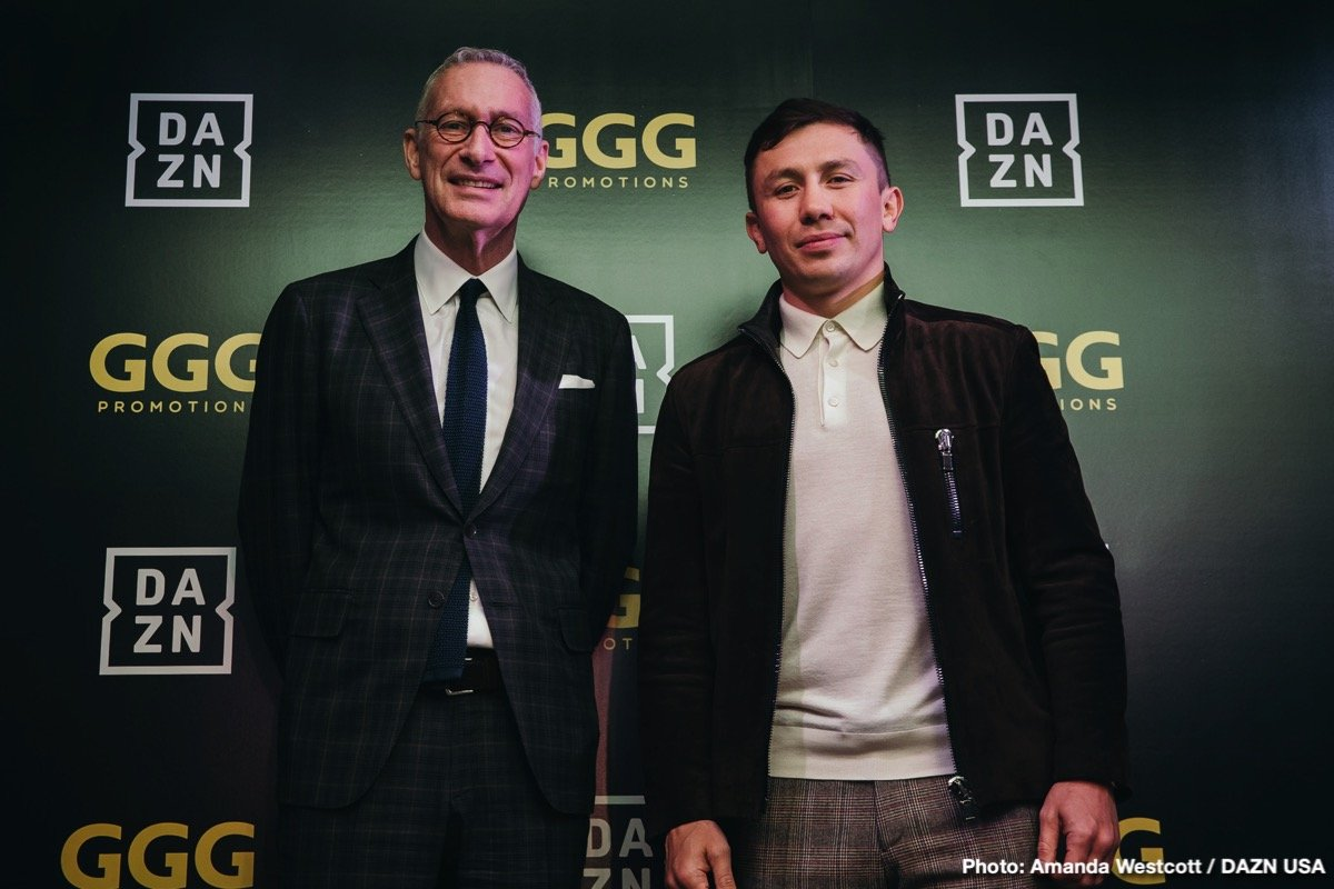 Golovkin vs Rolls - June 8 -  DAZN @ Madison Square Garden | New York | New York | United States