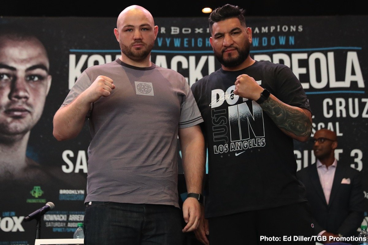 Kownacki vs Arreola - August 3 - FOX @ Barclays Center in Brooklyn | New York | United States