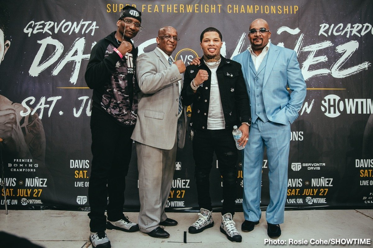 Davis vs Nunez – July 27 – Showtime