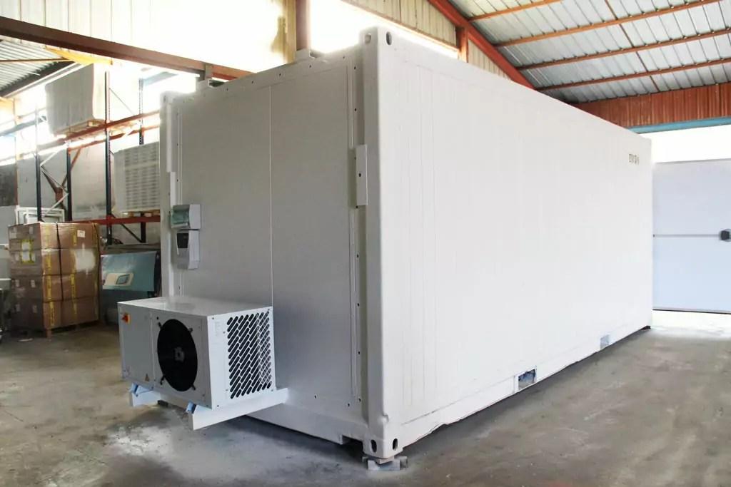 Container frigorifique silencieux  Boxinnov