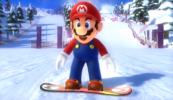 mario sonic at the