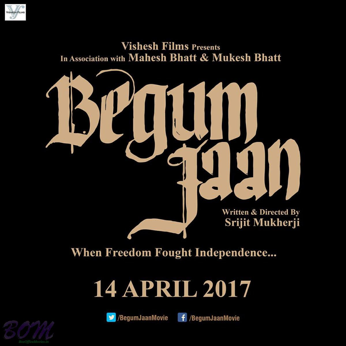Begum Jaan Movie Teaser Poster