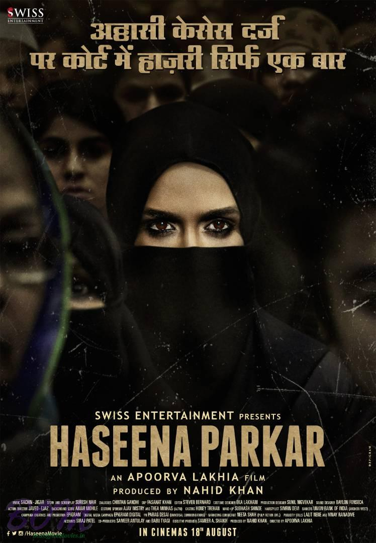 HASEENA movie teaser poster
