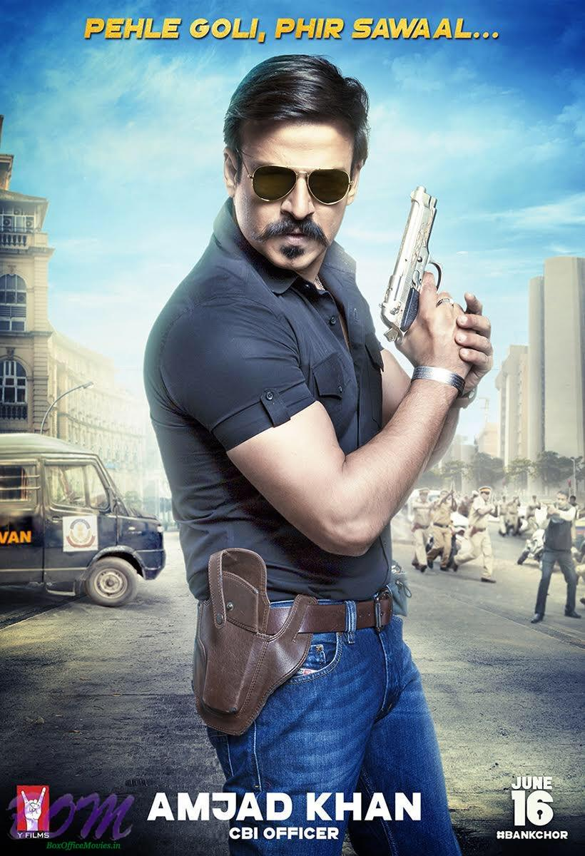 Vivek Oberoi as Amjan Khan CBI Officer in Bank Chor