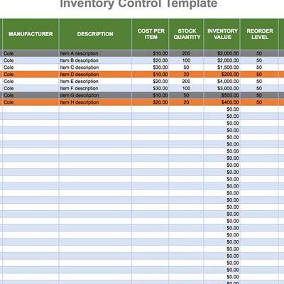 Looking for a simple inventory template to manage all the stuff in your warehouse? Why Use Excel For Inventory Tracking