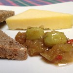 Gooseberry and chilli relish