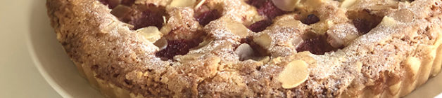 Strawberry bakewell tart recipe