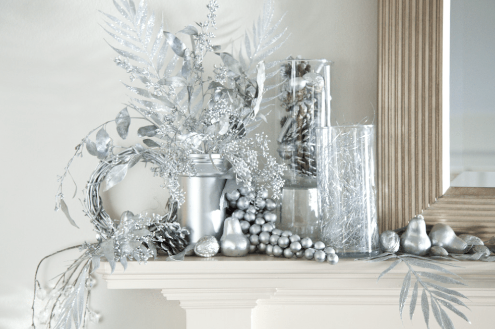 Boxwood Clippings  Blog Archive  Silver Spraypainted