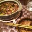 鴨鍋と焼酎ロック
