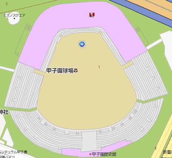 甲子園でキョリ測01