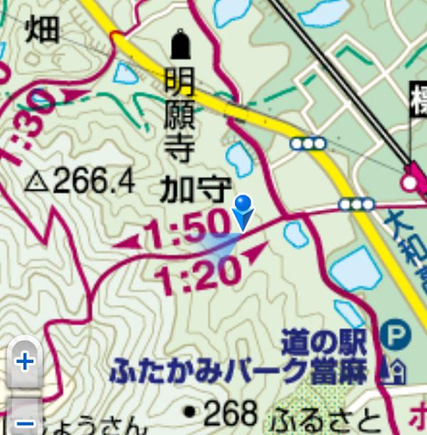 二上山地図
