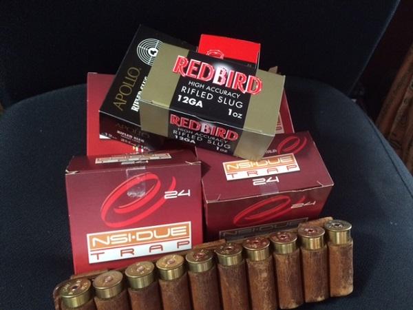散弾とスラッグ弾