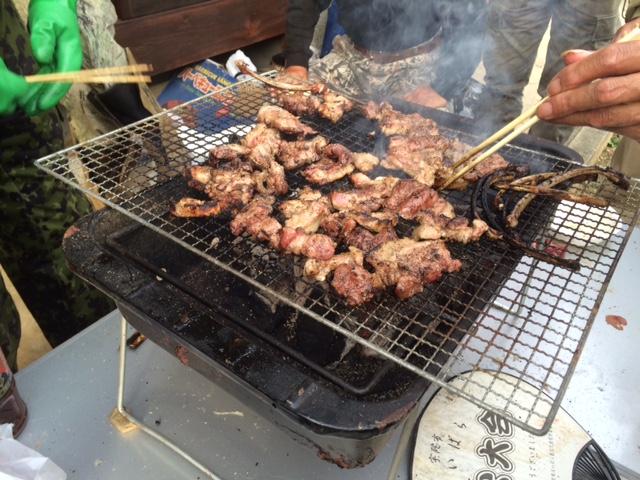 イノシシ焼き肉
