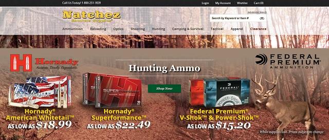 狩猟用品個人輸入代行のnatchez