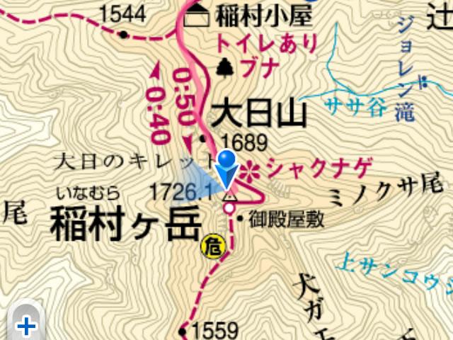 稲村ヶ岳登山ルート