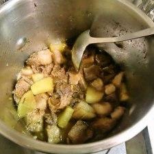 猪の角煮を作ってみた。