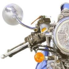 先達から学ぶバイク猟。空気銃+アメリカンバイクの場合。