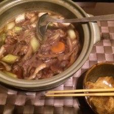 鴨鍋を作ってみた。