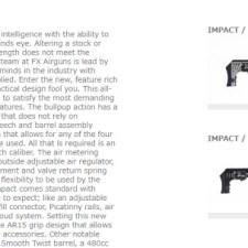 実力やいかに。替え銃身で口径が変更できる空気銃、FXインパクト!