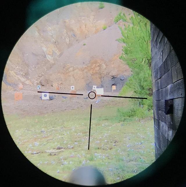 超格安スコープ。visionkingのVS1.25-5x26Lのスラッグ射撃レビュー