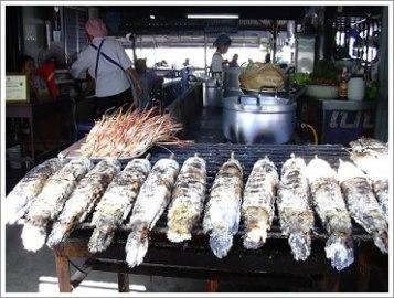 雷魚塩焼き in ノンカイ