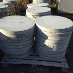 concrete round pads