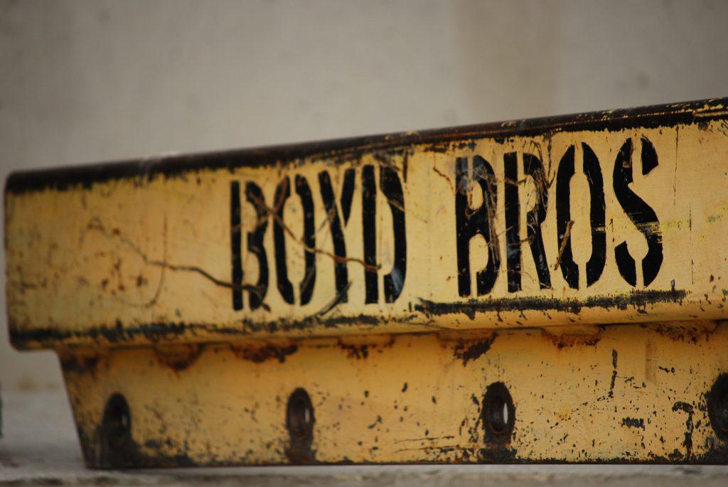 Boyd Bros steel lifting bar