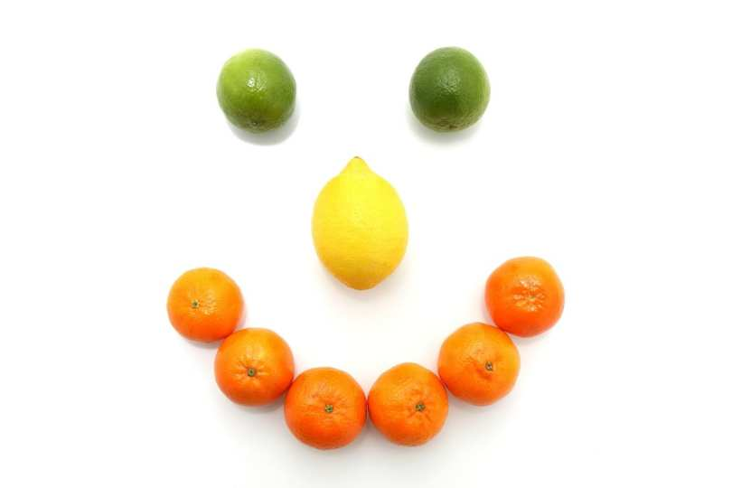 Citrus Happy Face