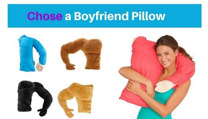 best boyfriend pillows man body