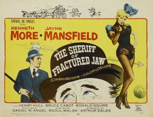 The Sheriff of Fractured Jaw Movie Poster (1958)