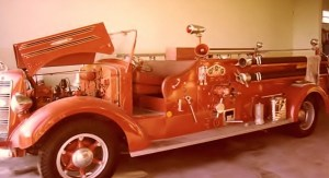 This 1946 Mack 500 GPM Piston Pumper is the truck used during the Jungle Inn Bar fire. The fire engine would prove its worth, as it was still in service in our department during the 1970s