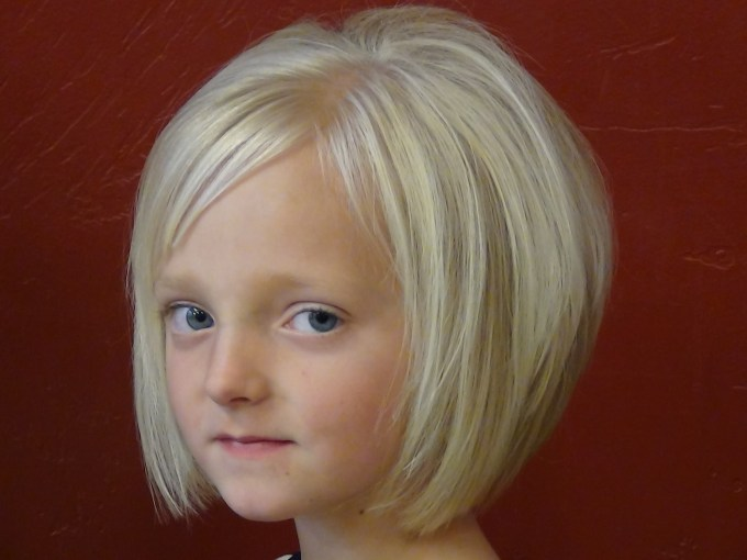 cut short style into little girls hair - learn more today