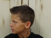 boys faux hawk - cato hairstyle