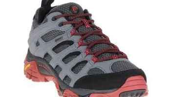 Merrell Mens Moab Gore-Tex Hiking Shoes Castle Rock