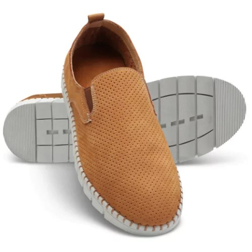 Breathable Comfort Leather Slip Ons1