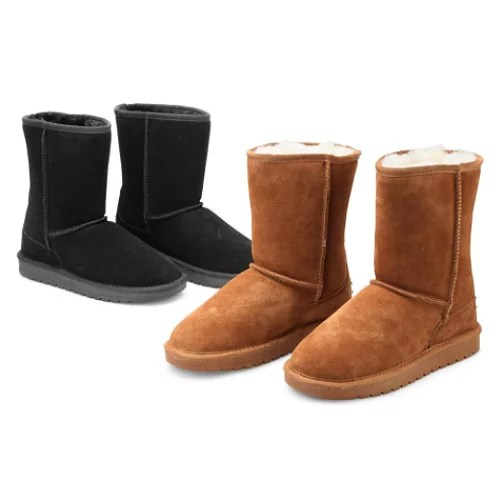 Genuine Sheepskin Boots1