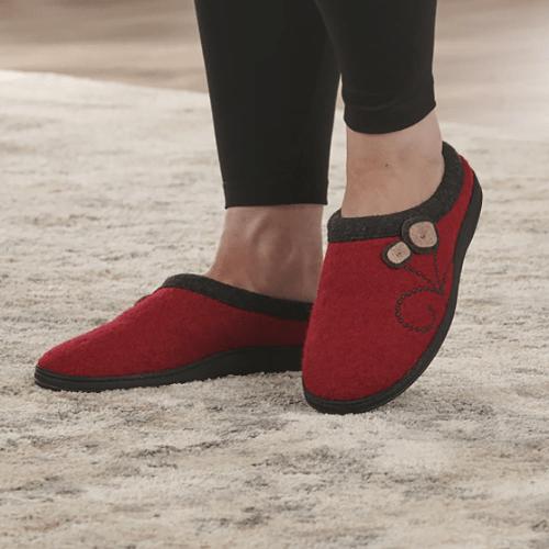 Indoor Outdoor Wool Slippers