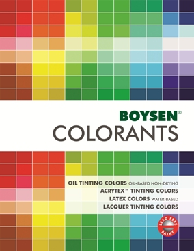 Boysen Latex Colors