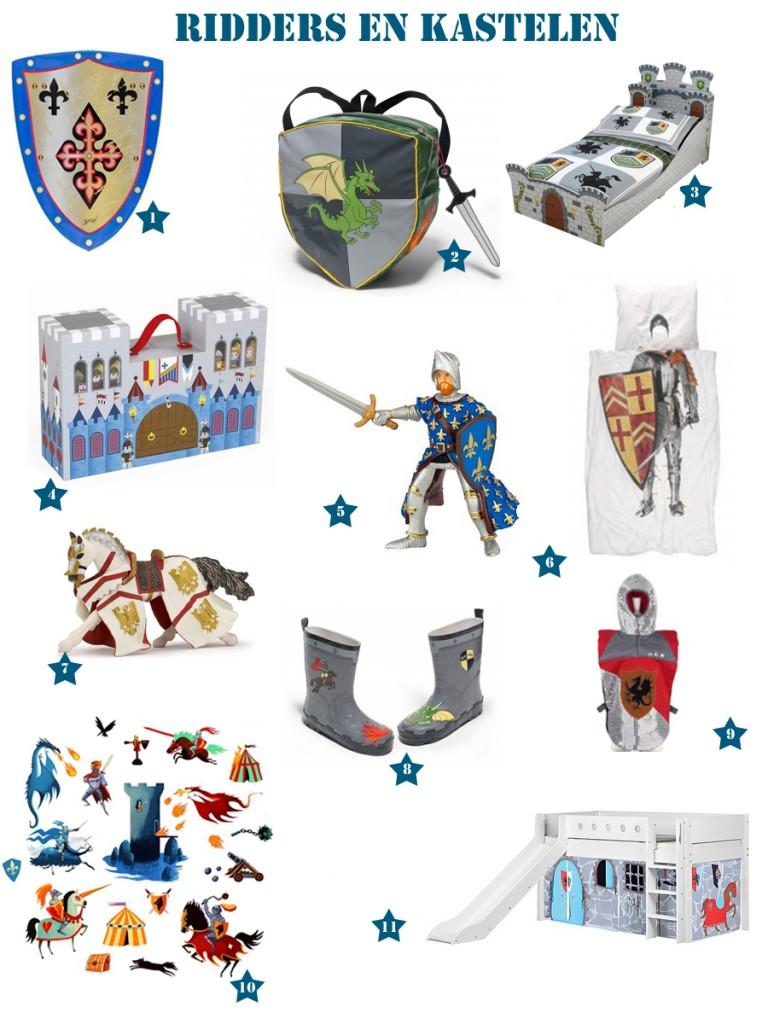 Ridders speelgoed l Ridders en kastelen jongensspeelgoed
