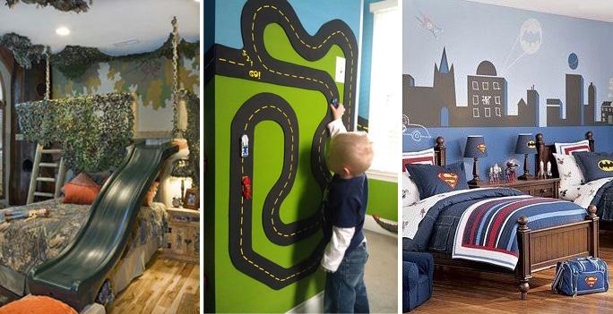 Themakamer voor jongens l Van babykamer naar jongenskamer